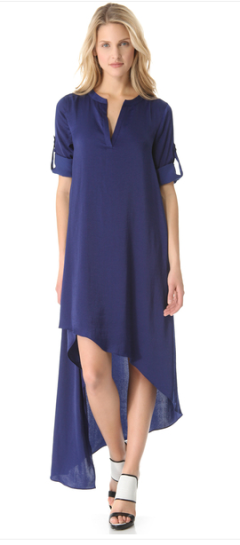 BCBGMAXAZRIA Blue Eddie Dress