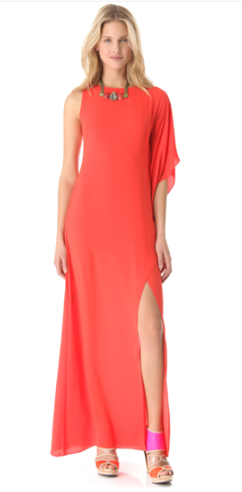 BCBGMAXAZRIA Red Janus Dress