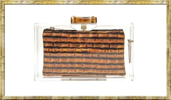 Charlotte Olympia Pandora Bamboo Box Clutch