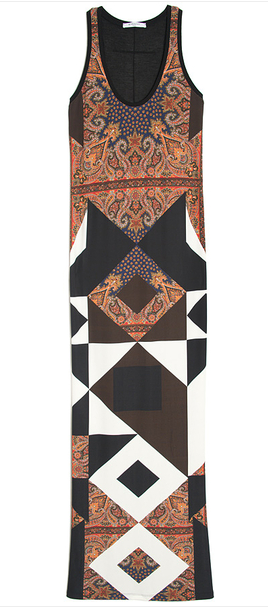 GIVENCHY Multicolor Multi Print Maxi Dress