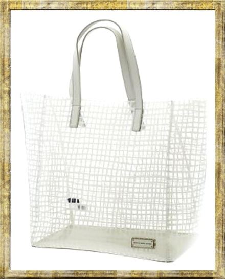marc by marc jacobs clear transparent tote