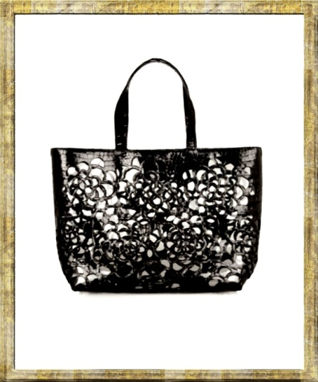nancy gonzalez crocodile pvc transparent tote