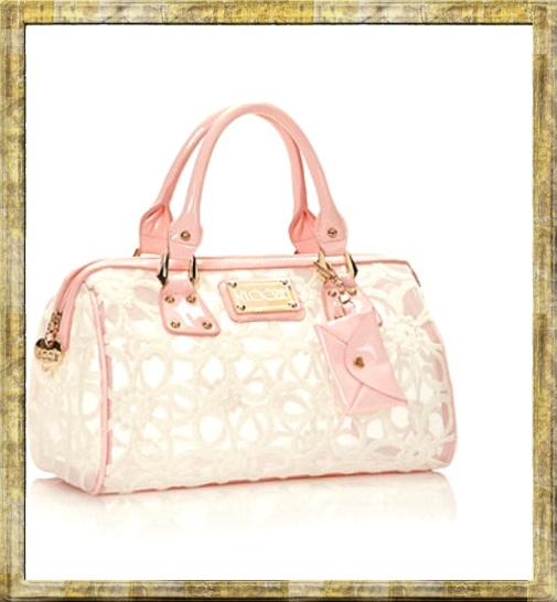 pink floozie bowler bag