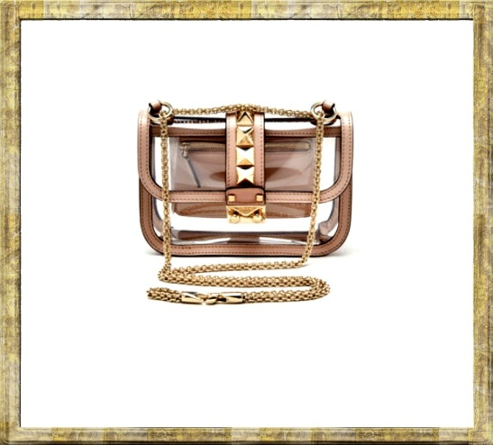 valentino transparent bag