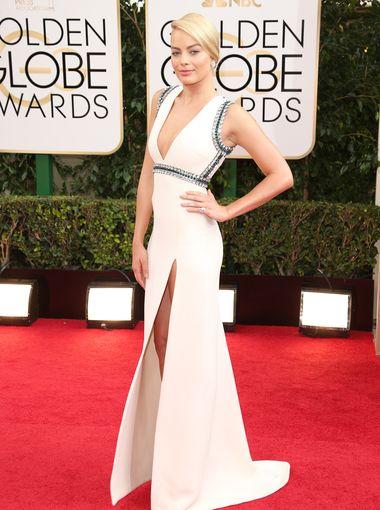 Margot Robbie_golden_globe_2014_Gucci