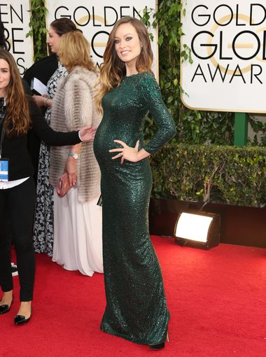 Olivia Wilde_golden_globe_Gucci_2014