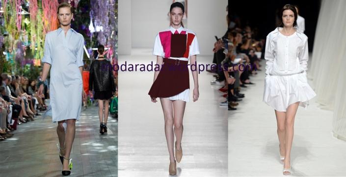 fashion trends shirt dresses