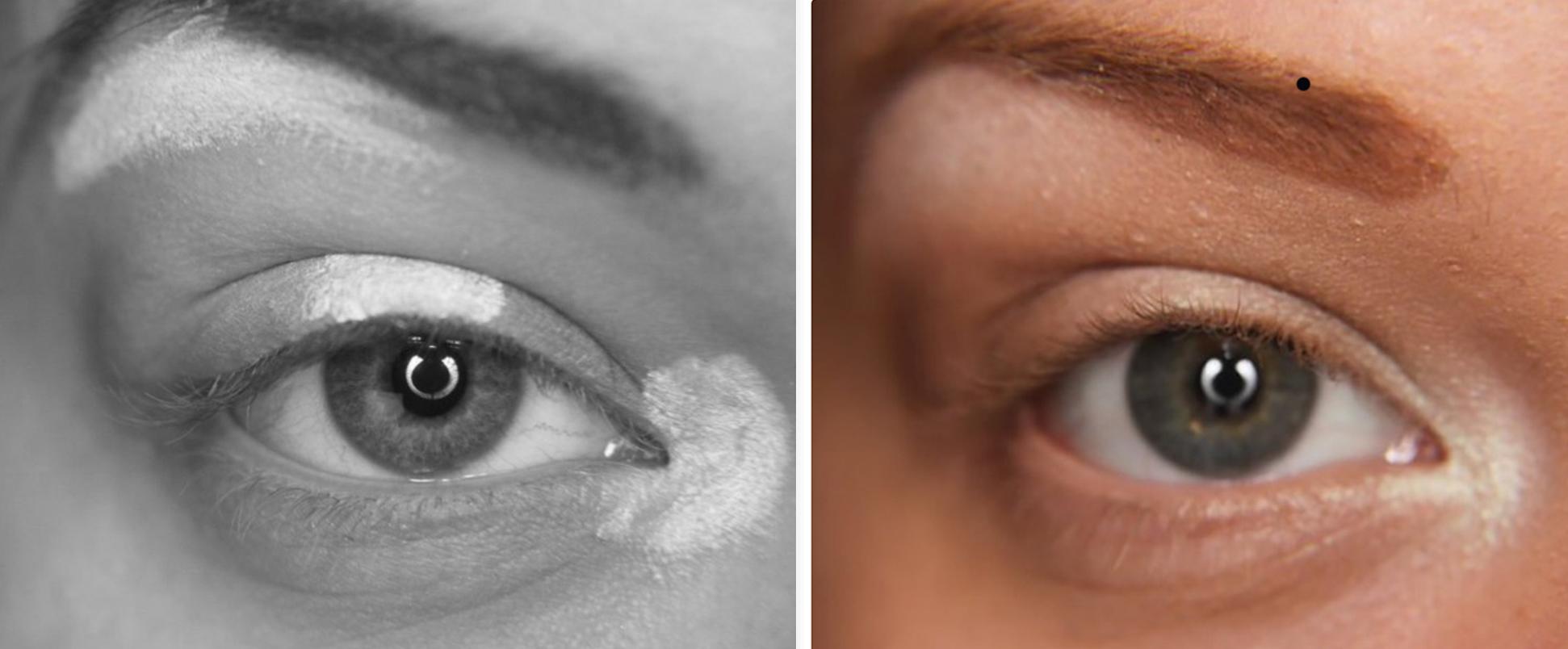 Tek far ile kolay göz makyajı